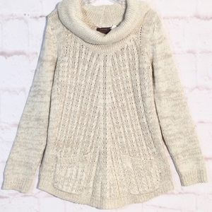 ANTHROPOLOGIE GUINEVERE Cowl Neck Sweater